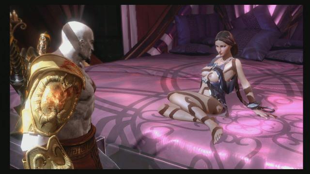 God of War 3: Heiße Bilder zeigen komplettes Sex