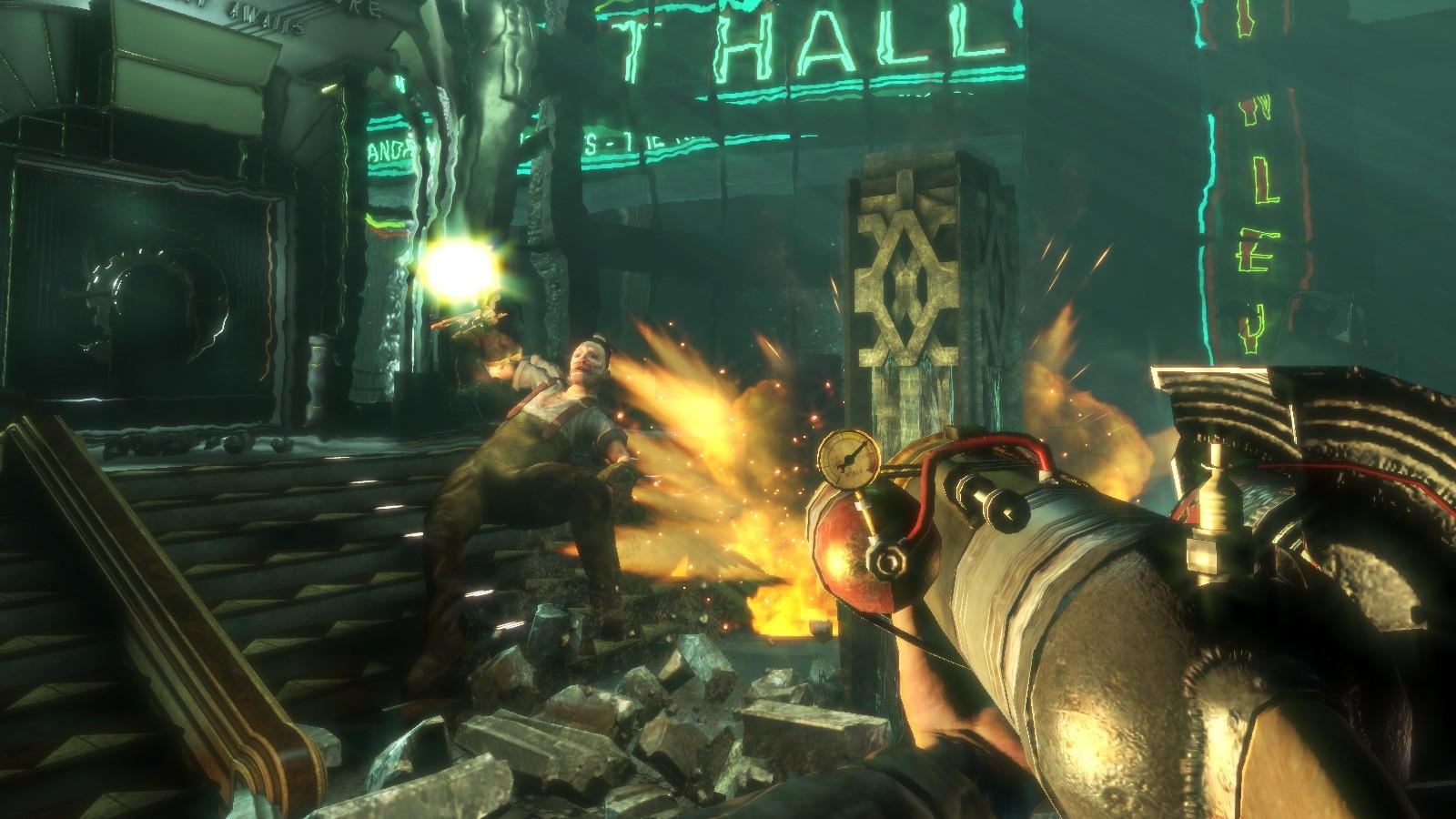 Скриншоты к BioShock 2.