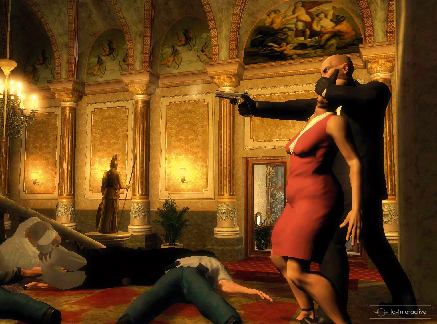 Hitman blood money nude mod hardcore picture