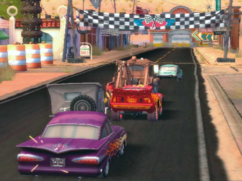 Скриншоты Cars / Pixar Cars The Video Game / Disney.