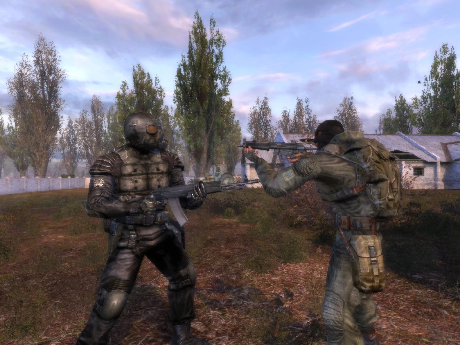 Мод Unreal weapons v 0.8 для STALKER Тени Чернобыля мод добавляет в