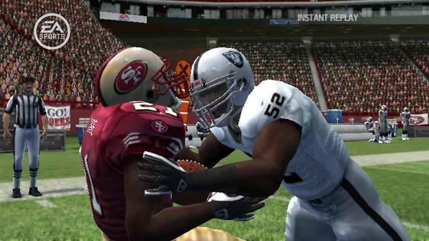Madden NFL 08 Screenshot.
