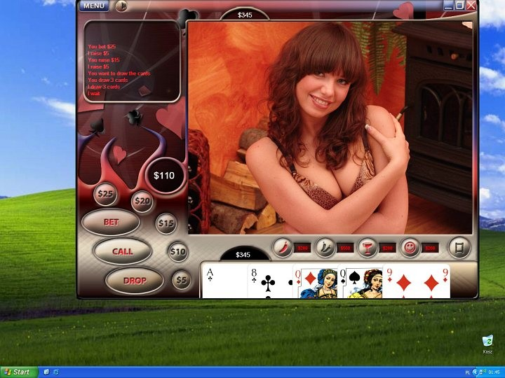 Strip Poker Game-Play Demo - YouTube