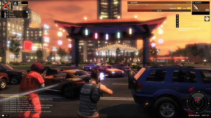 APB's. extensive beta and Key To The City Event. Then why not talk