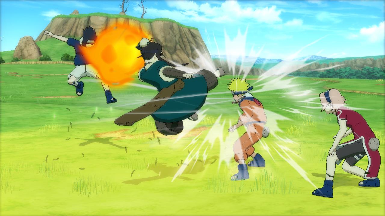 Namco Bandai опубликовали первые скриншоты Naruto Ultimate Ninja Storm