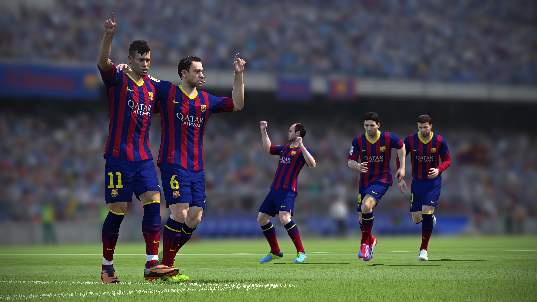 Скриншоты к игре FIFA 14.