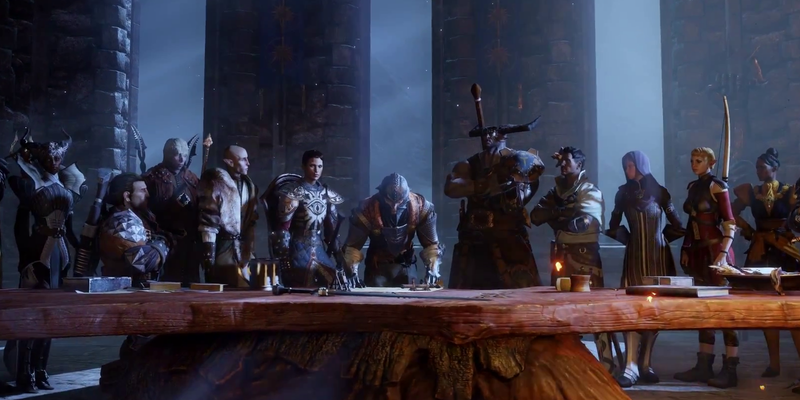 Dragon Age: Inquisition - Die Weggefährten des Inquisitors.