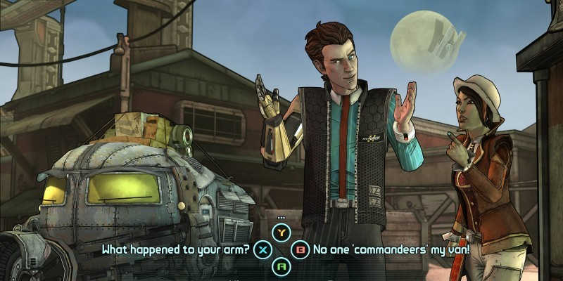 Telltale und Gearbox im Interview: Im neuesten Entwickler-Blog präsentieren die Macher von Tales from the Borderlands auch brandneue Szenen aus dem Episoden-Adventure.