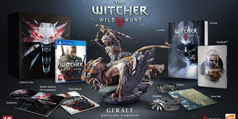 The Witcher 3 Collector's Edition im Unboxing-Video.
