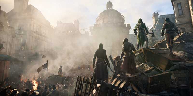 Sowohl auf PS4 als auch Xbox One ist Assassin's Creed Unity in 900p bei 30 FPS spielbar.