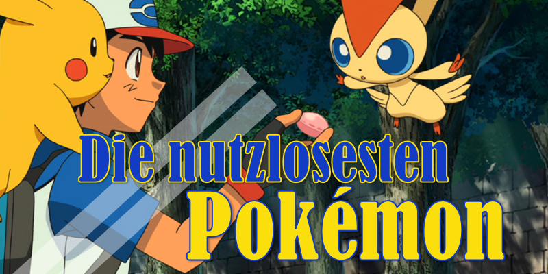 [b]I don't choose you![/b] - Die zehn uncoolsten Pokémon aller Zeiten.