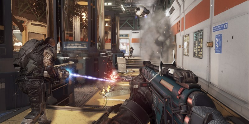 Die Downloadgröße von Call of Duty: Advanced Warfare beträgt knapp 40 Gigabyte auf PlayStation 4.
