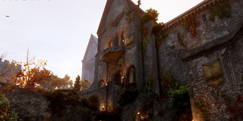 Dragon Age: Inquisition - Livestream zu Skyhold Castle. (2)