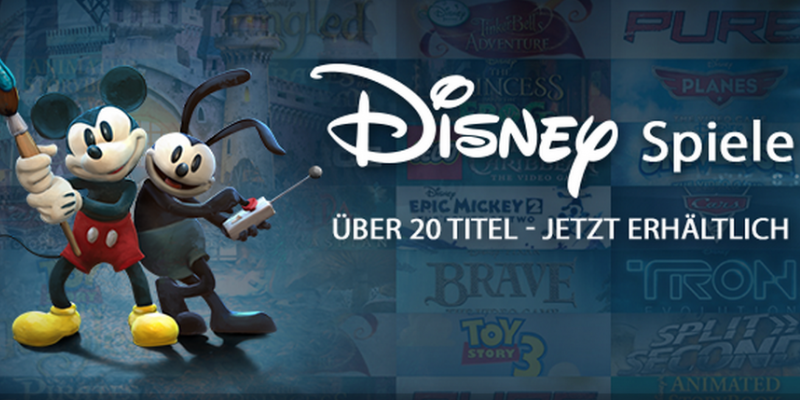 Disney: Split/Second, Epic Mickey 2, Tron: Evolution uvm. veröffentlicht - Launch Sale auf Steam