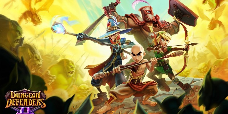 Dungeon Defenders 2 ist jetzt Free2Play.