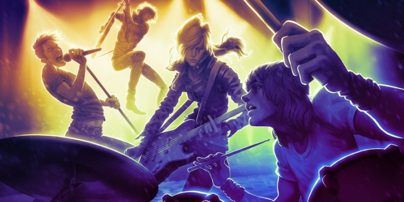 Rock Band 4 mit Mad Catz als Publisher.