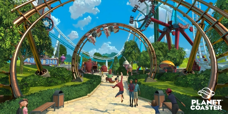 Planet Coaster macht rüber nach Steam.