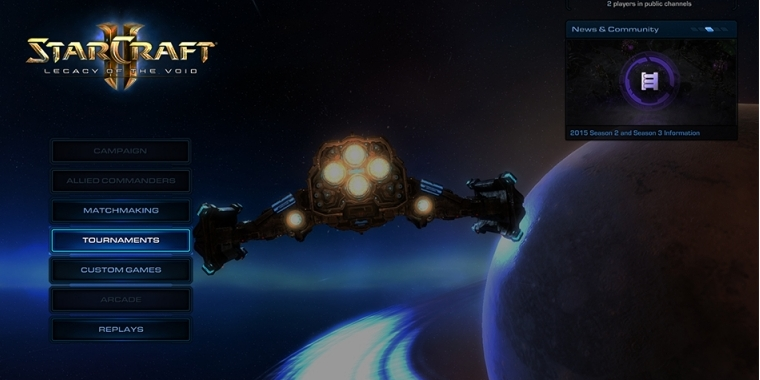 Das nächste Beta-Update für Starcraft 2: Legacy of the Void bringt Auto-Turniere.