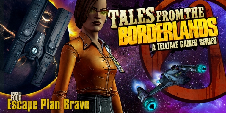 Die vierte Tales from the Borderlands-Episode trägt den Untertitel 'Escape Plan Bravo'.