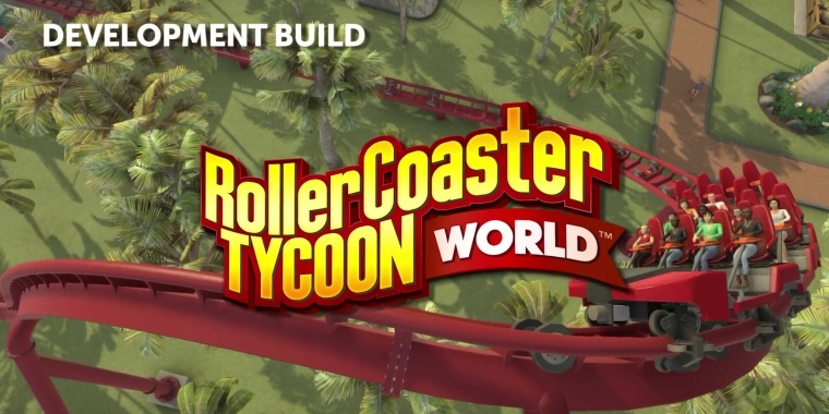 Rollercoaster Tycoon World erscheint am 30. März als Early-Access-Version.  (8)