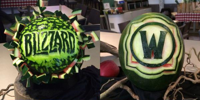 "World of Warcraft: Blizzard twittert offizielle ""World of Wassermelone""-Bilder."