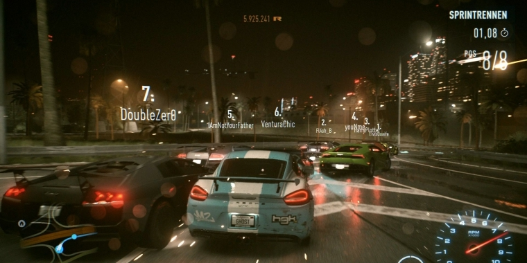 Need for Speed 2015: Grafikvergleich im Technik-Video
