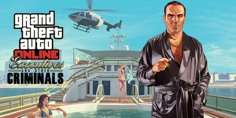 Rockstar Games veröffentlicht das Update Executives and Other Criminals für GTA 5.