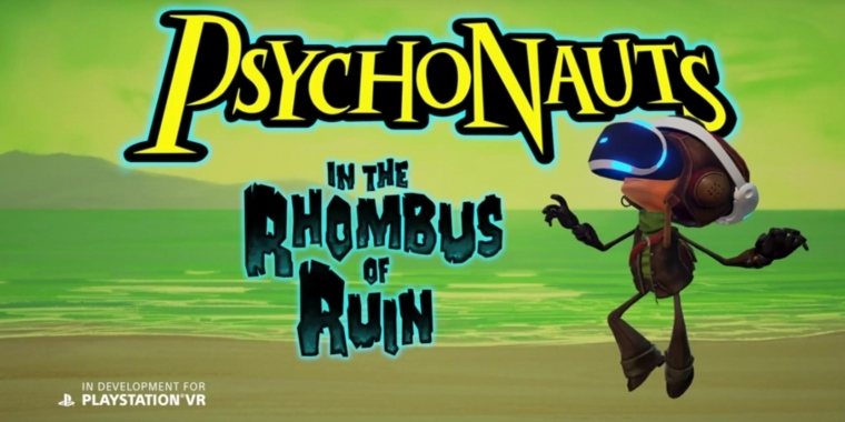 Psychonauts in the Rhombus of Ruin wurde exklusiv für Playstation VR angekündigt.