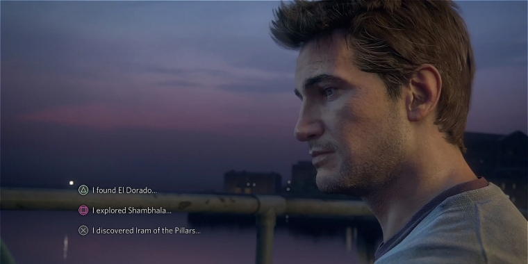 Naughty Dog erläutert, was hinter den Dialogoptionen in Uncharted 4: A Thief's End steckt.