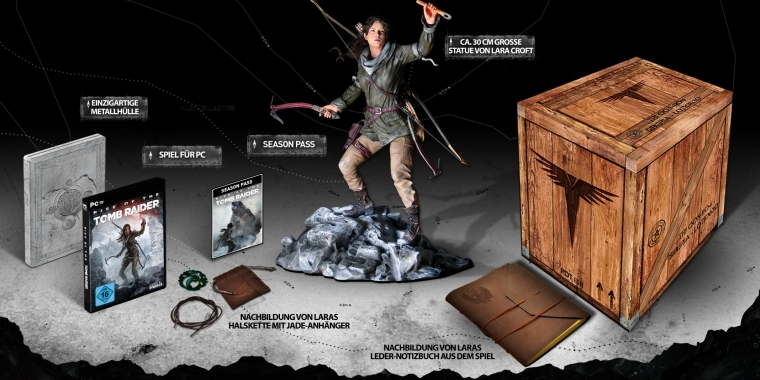 Rise of the Tomb Raider: Unboxing der PC-Collector's Edition. (2)