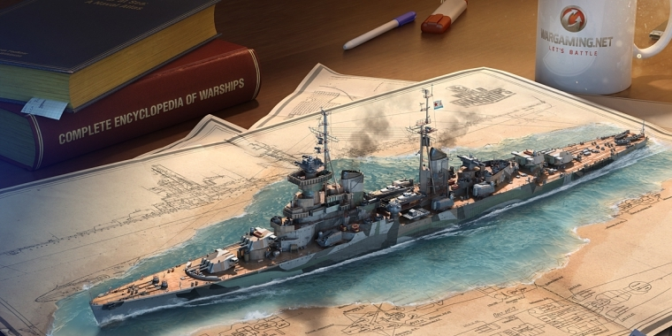 World of Warships: Machen bald russische Kreuzer die Meere unsicher?