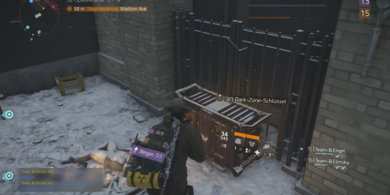 The Division - Farm-Guide zu Division-Tech in der Dark Zone im Video-Guide.
