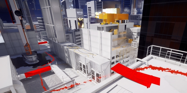 Die Runner Vision fungiert in Mirror's Edge Catalyst als vollwertiges GPS-System.