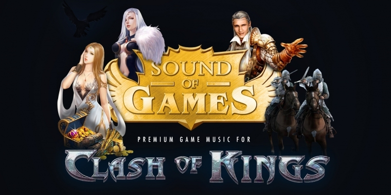 Clash of Kings: Komponisten-Duo Sound of Games verpflichtet.