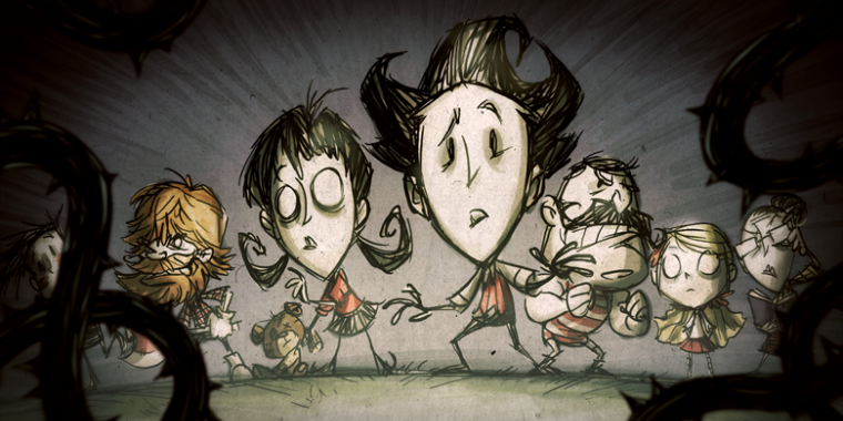 Don't Starve Together erscheint am 21. April final.