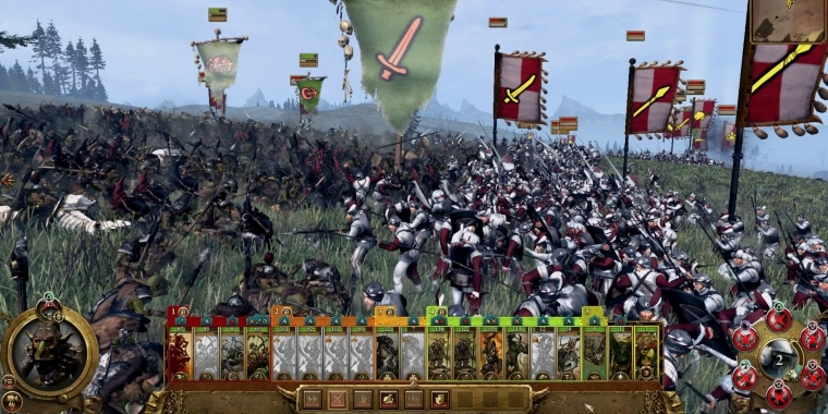 Total War: Warhammer - keine Formationen