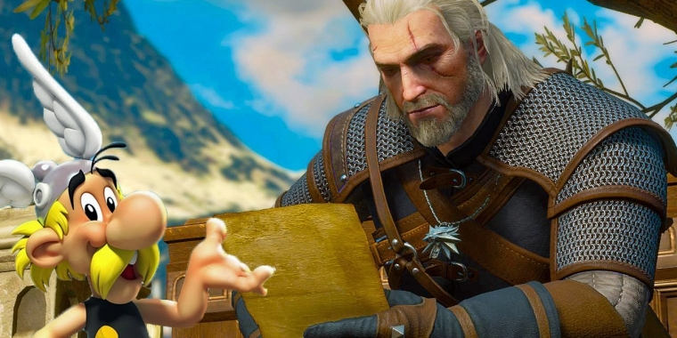 The Witcher 3: Blood and Wine: Witziges Easter Egg zu Asterix im Video-Special (1)