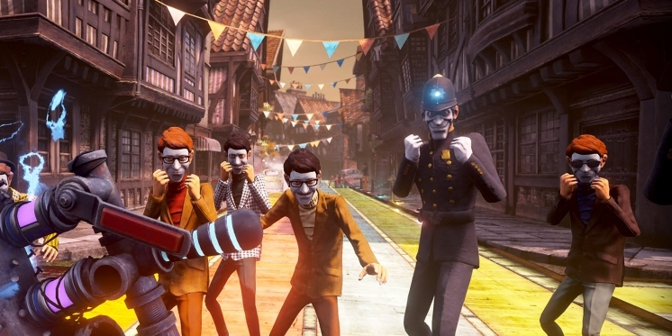 We Happy Few wurde per Crowdfunding finanziert.