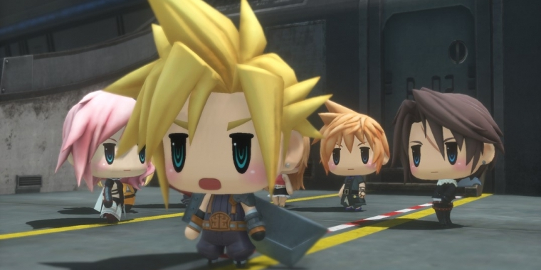 World of Final Fantasy erscheint am 28. Oktober 2016.