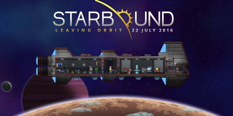 Starbound erscheint in Kürze final.