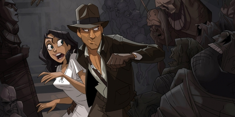 Indiana Jones: Fan kreiert animiertes Intro für eine Cartoon-Serie (1)