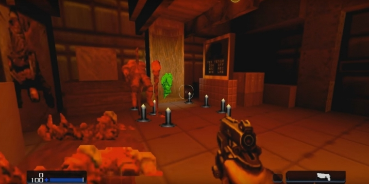 Doom (2016):Erstes Level in Doom 2 nachgebaut (Video) (5)