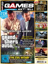 Games Aktuell 06/2013: GTA 5 (zu Besuch bei Rockstar Games), The Evil Within (Survival-Horror in Tokio überlebt) - in der goldenen Jubiläumsausgabe '10 Jahre Games Aktuell'