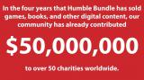Humble Bundle: 50 Millionen Dollar gespendet - Humble Bundle-Macher bedanken sich