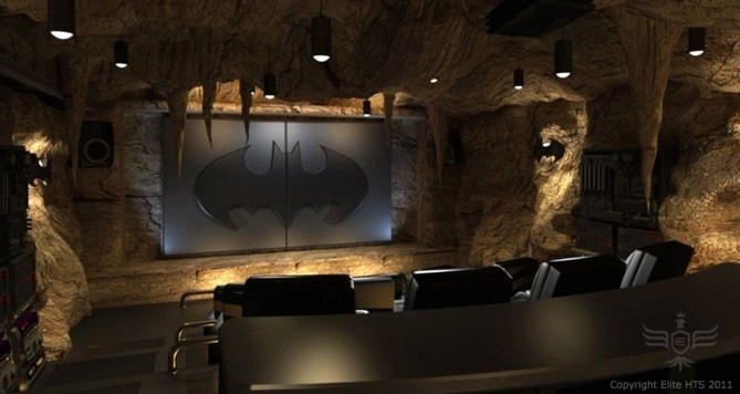 the dark knight rises f r zuhause fan baut wahnsinns heimkino im stil der bath hle zugang via. Black Bedroom Furniture Sets. Home Design Ideas