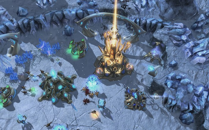 تحميل لعبة StarCraft Heart Swarm.