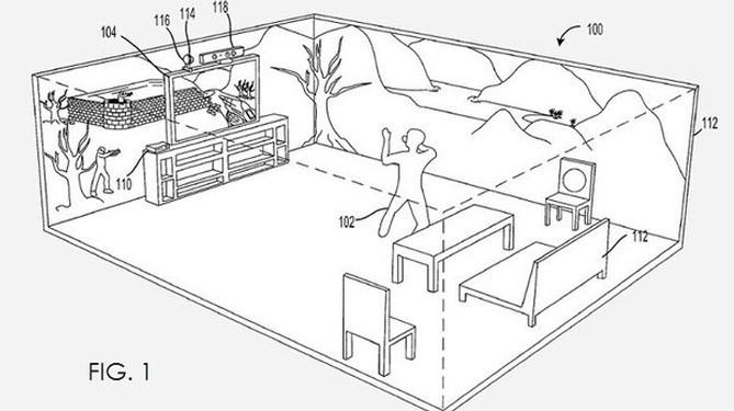 Xbox 720 Next Gen Konsole Mit 3d Umgebung Im Eigenem Zimmer